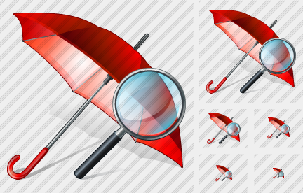 Umbrella Search 2 Icon