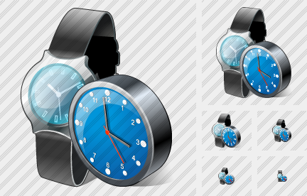 Icône Watch Clock