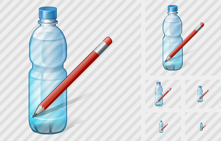 Icône Water Bottle Edit