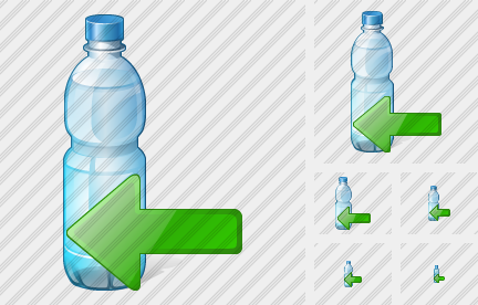 Icône Water Bottle Import