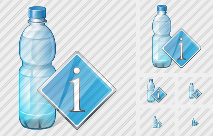 Water Bottle Info Icon