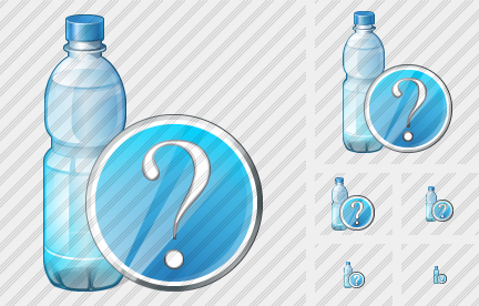 Icône Water Bottle Question
