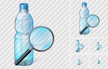 Water Bottle Search 2 Icon