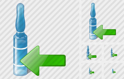 Ampoule Import Icon