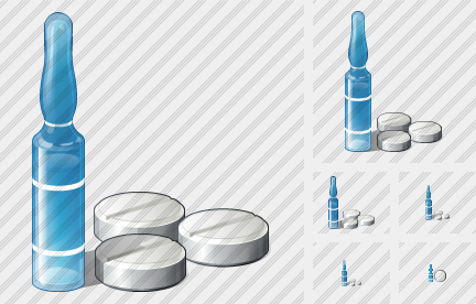 Ampoule Tablets Icon