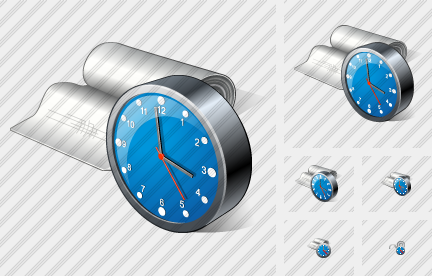 Bandage Clock Icon