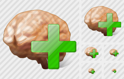 Brain Add Icon