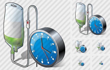 Dropper Clock Icon