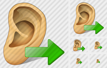 Ear Export Icon