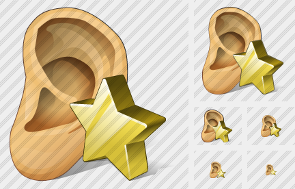 Ear Favorite Icon