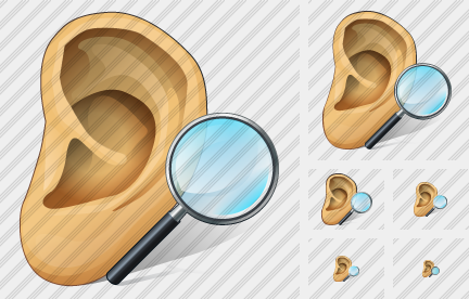 Ear Search 2 Icon