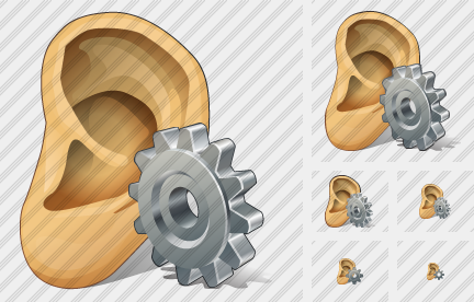 Ear Settings Icon