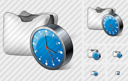 Filling Clock Icon