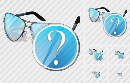 Glasses Question Icon