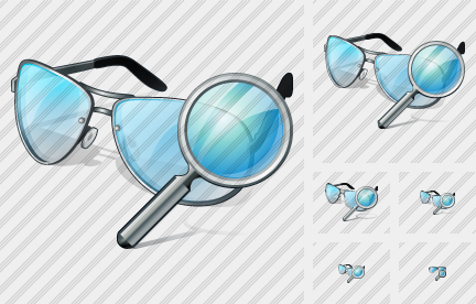 Glasses Search Icon