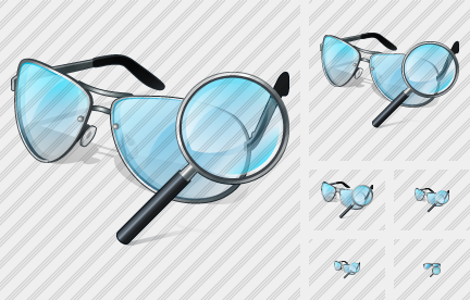 Glasses Search 2 Symbol
