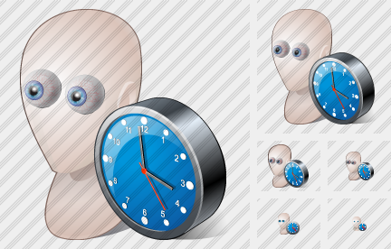 Head4 Clock Icon