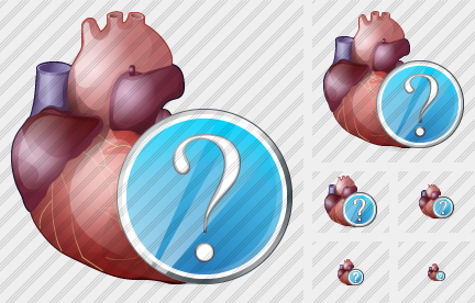 Heart Question Icon