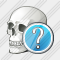 Skull Question Icon