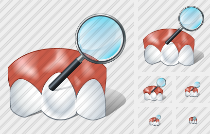 Normal Tooth Search 2 Icon