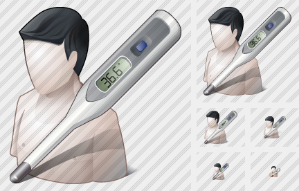 Patient Thermometer Icon