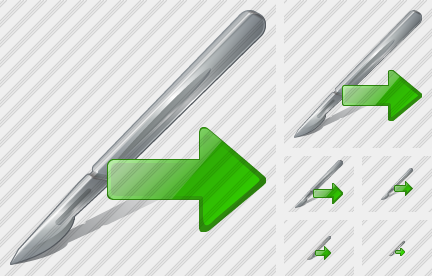 Scalpel Export Icon
