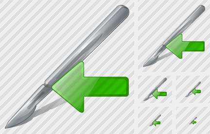 Scalpel Import Icon