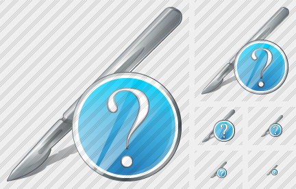 Scalpel Question Icon