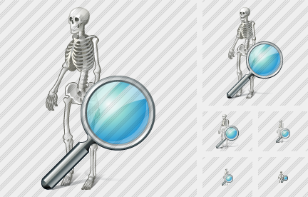 Skeleton Search Icon