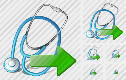 Stethoscope Export Icon