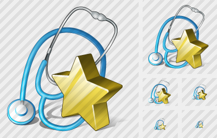 Stethoscope Favorite Icon