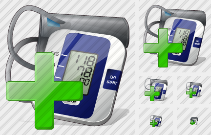 Tonometer Add Icon