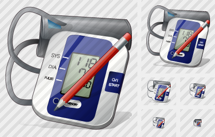 Tonometer Edit Icon