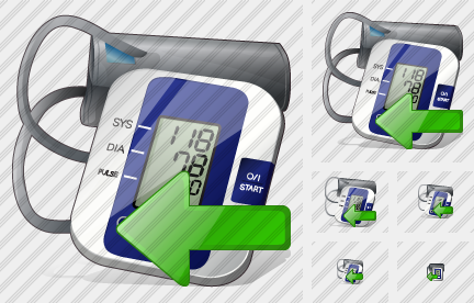 Tonometer Import Icon