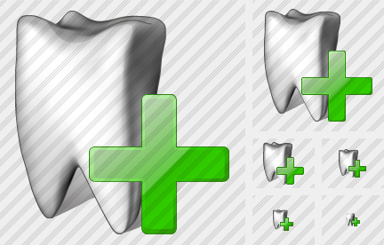 Tooth Add Symbol
