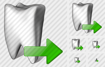 Tooth Export Icon