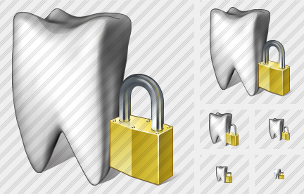 Tooth Locked Icon