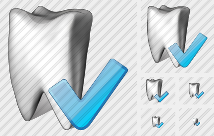 Tooth Ok Icon