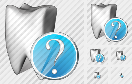 Tooth Question Icon