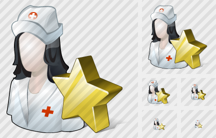 User Nurse Favorite Icon