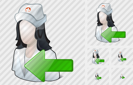 User Nurse Import Icon