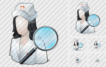 User Nurse Search 2 Icon
