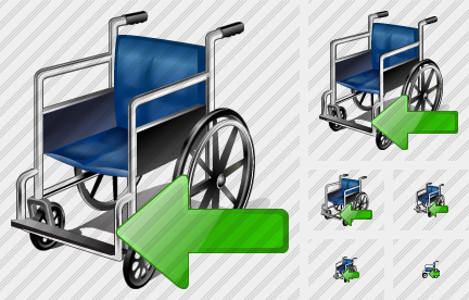 Wheel Chair Import Icon