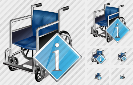 Wheel Chair Info Icon