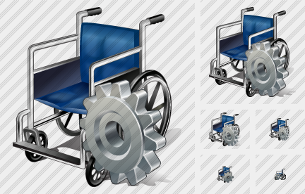 Icône Wheel Chair Settings