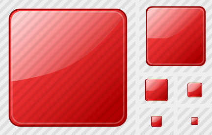 Rect Red Icon