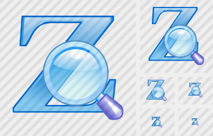 Z Search Icon